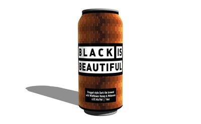 4PACK - Black is Beautiful (16oz)