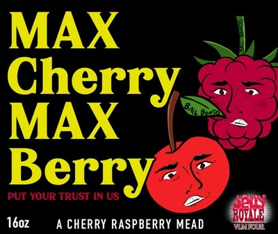 MEAD - Max Cherry Max Berry (16oz bottle)