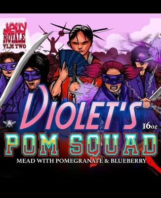 MEAD - Violet's Pom Squad (16oz Bottle)