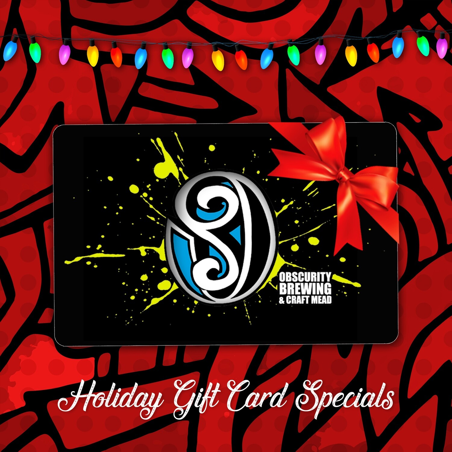 Obscurity Gift Card