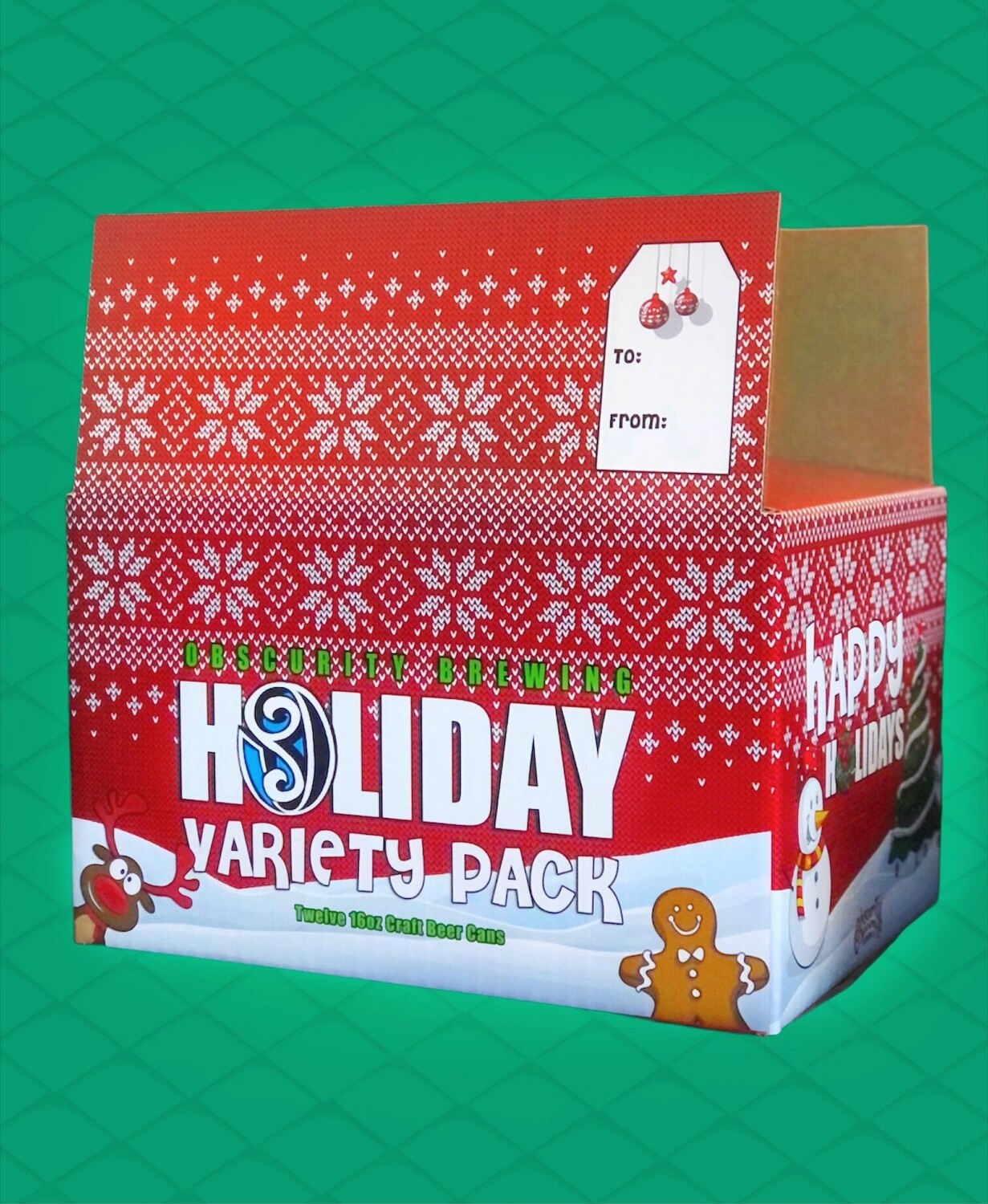 Obscurity Holiday Variety Pack