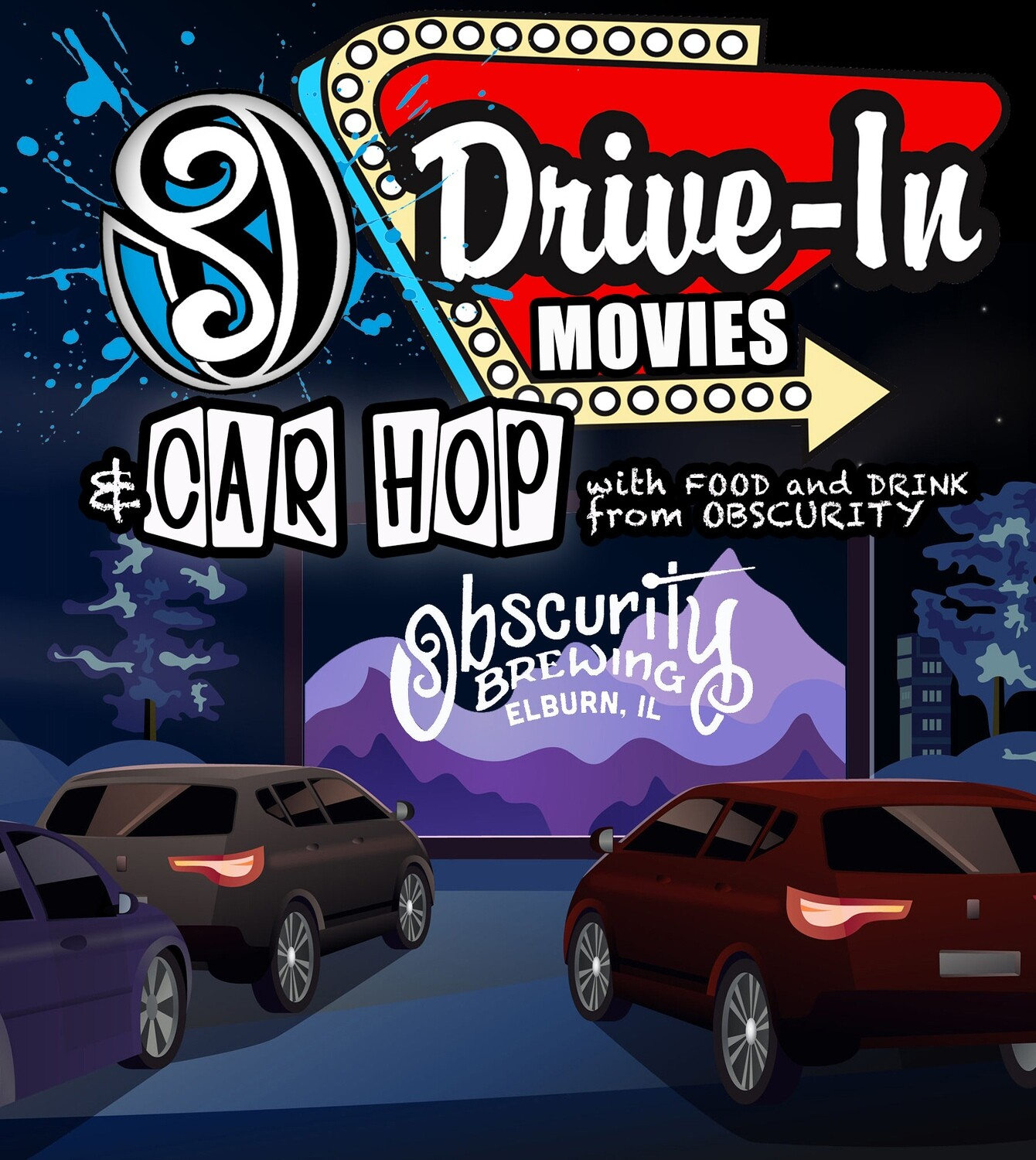 Obscurity Drive In - Friday 1/22 5:30PM The Croods