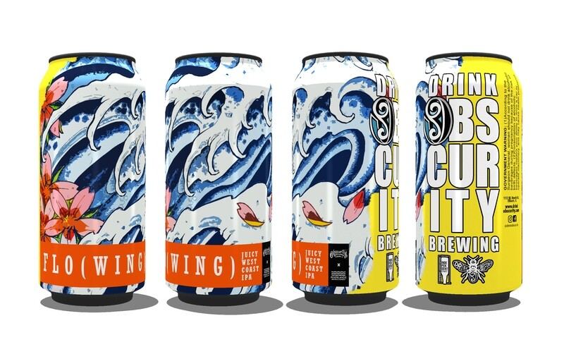 4PACK - FLO(WING) (16oz)