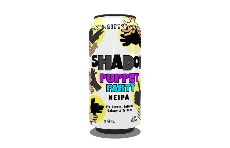 4PACK - Shadow Puppet Party (16oz)