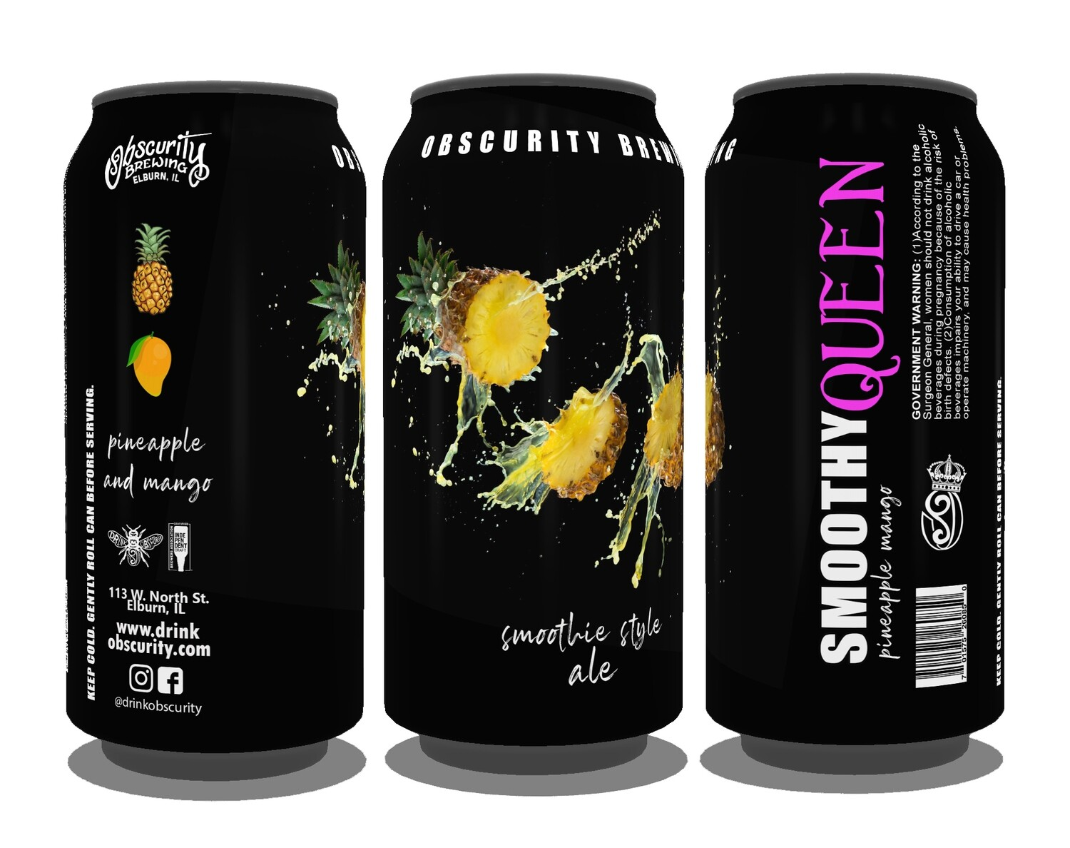4PACK - Smoothy Queen (Pineapple & Mango) PRE-ORDER