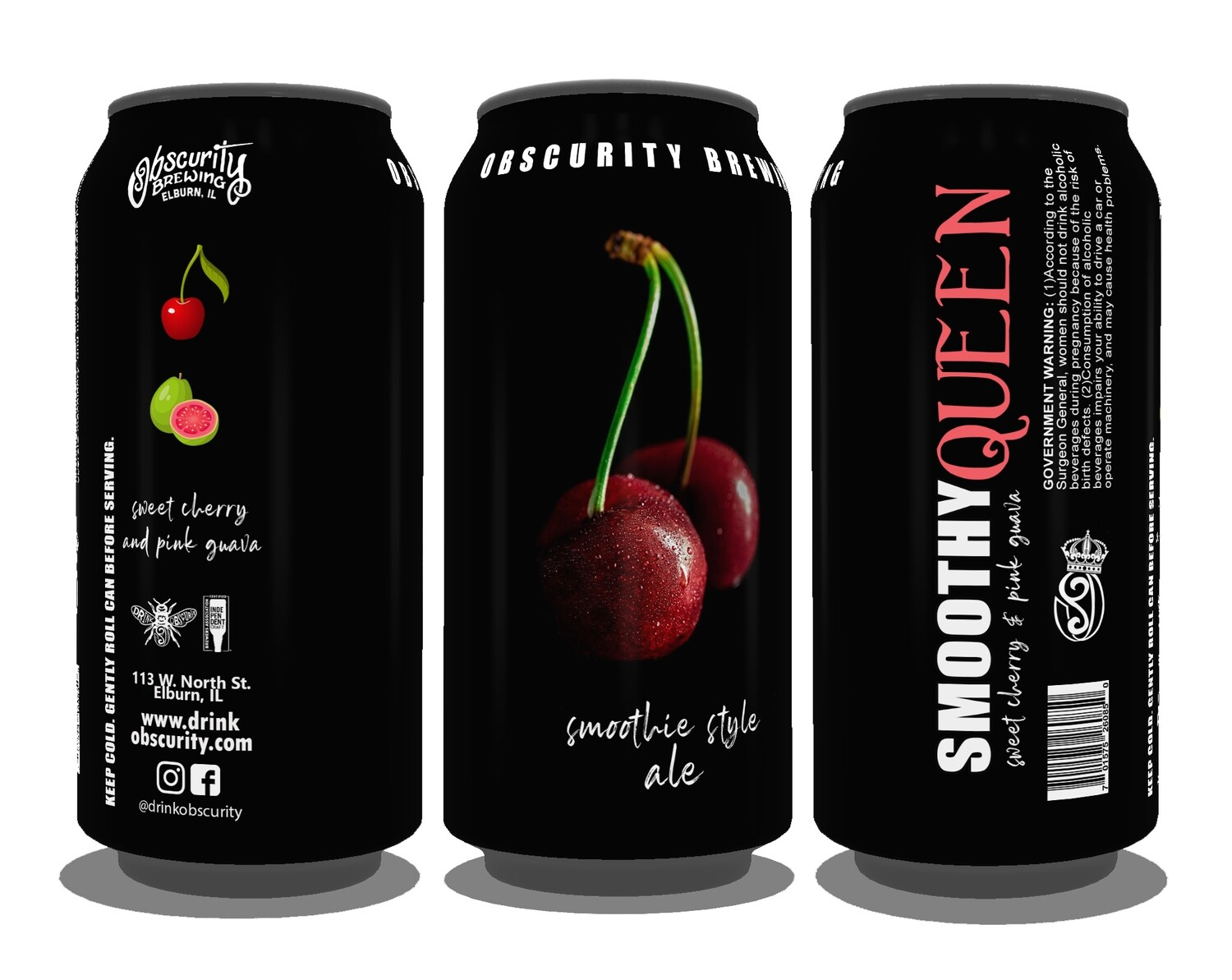 4PACK - Smoothy Queen (Sweet Cherry & Pink Guava) PRE-ORDER