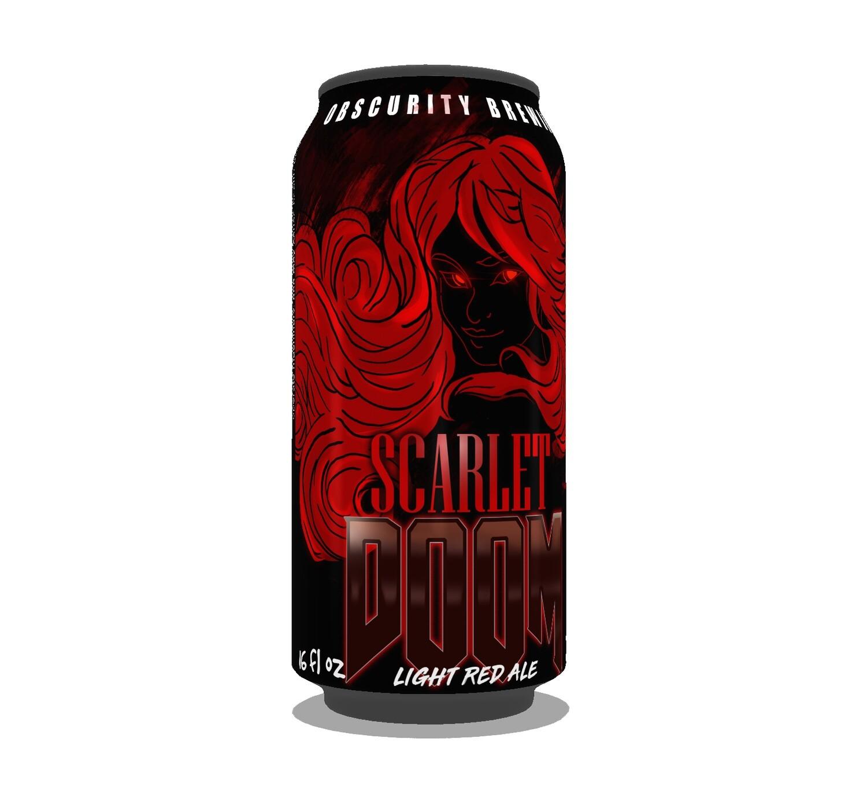 4-PACK - Scarlet DOOM (16oz)