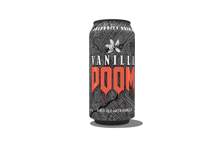 4-PACK - Vanilla DOOM (16oz)
