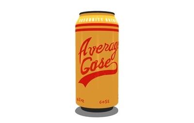 4-PACK Average Gose(16oz)