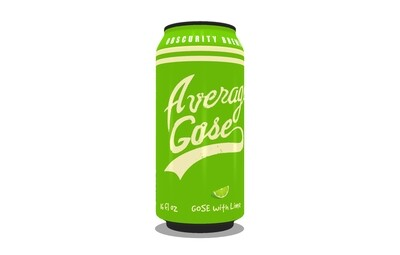 4-PACK Average Gose with LIME(16oz)