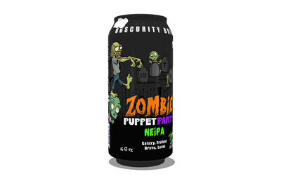4-PACK Zombie Puppet Party (16oz)