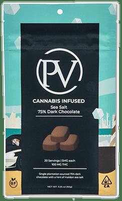 Sea Salt 75% Dark Chocolate Bar