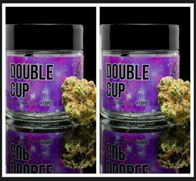 INDOOR TOP SHELF PAIR!   DOUBLE CUP   30.9% THC
