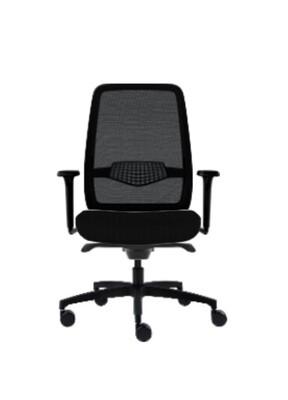 AllSeating L1 Task Chair- Black Frame