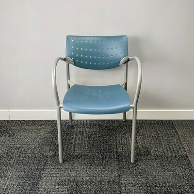 Keilhauer Also 3513 Chair Blue
