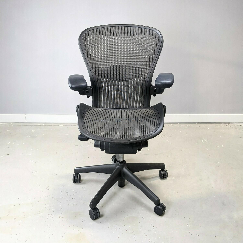Herman Miller Aeron Task Chair Size C Gray
