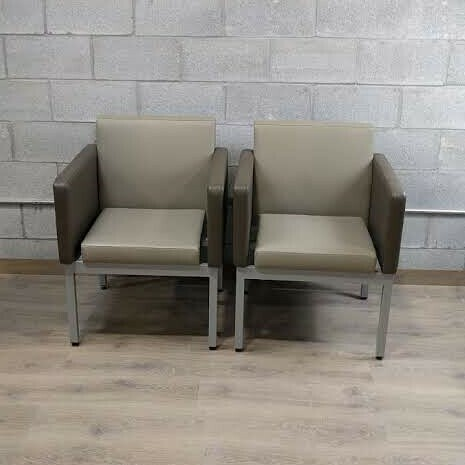 Groupe Lacasse Reception Lounge Chair -Set of 2