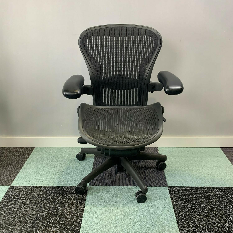 Herman Miller Aeron Task Chair Size B Black