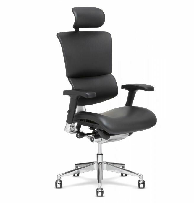 X-4 Leather Exec Chair