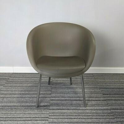 Keilhauer Chair Brown Plastic