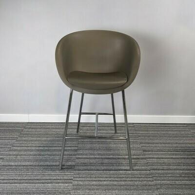 Keilhauer Bar Height Chair Brown