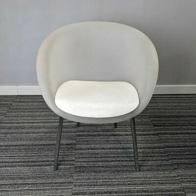 Keilhauer White Plastic Chair