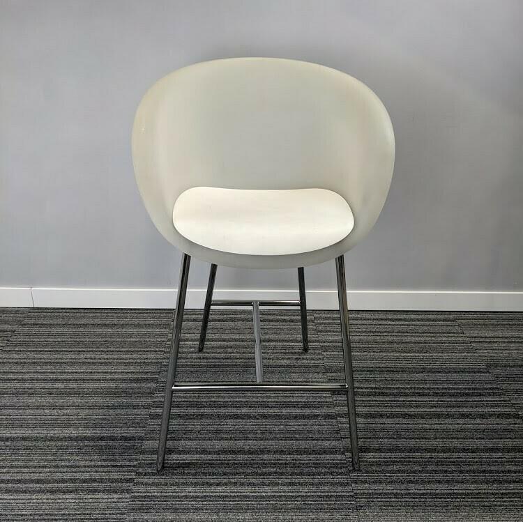 Keilhauer Bar Height Chair White