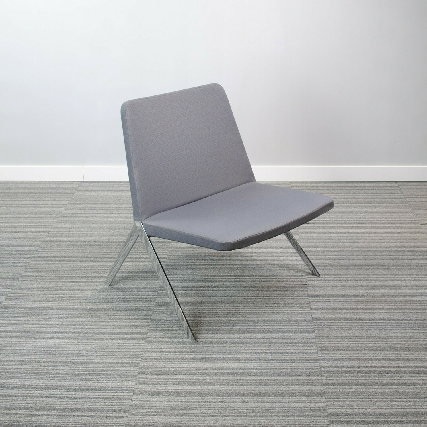 Keele Chair by Teknion Grey