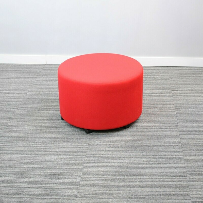 Puff Lounge Seating by Kimball Red