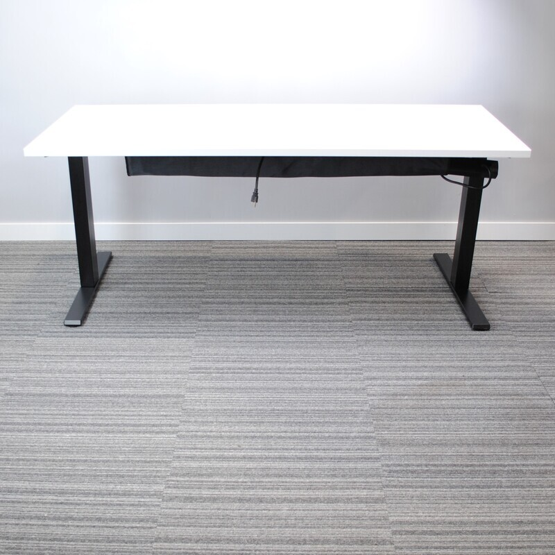 Navigate Height-Adjustable Desk by Teknion