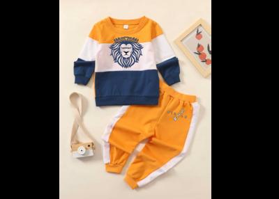 Orange, Blue and White Toddler Set