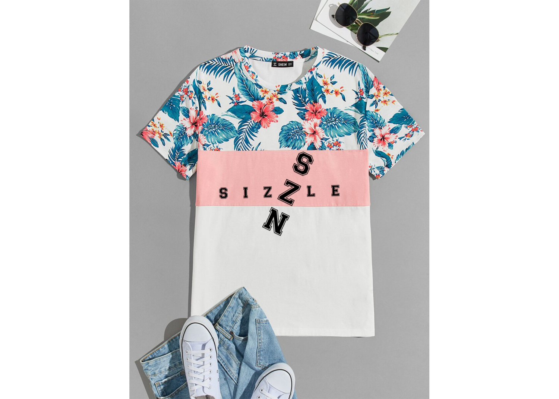 Men's Tropical Sizzle Szn Short Sleeve Tee