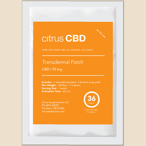 Transdermal Patches 70mg
