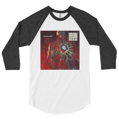 3/4 Sleeve 'Iron Man' Shirt