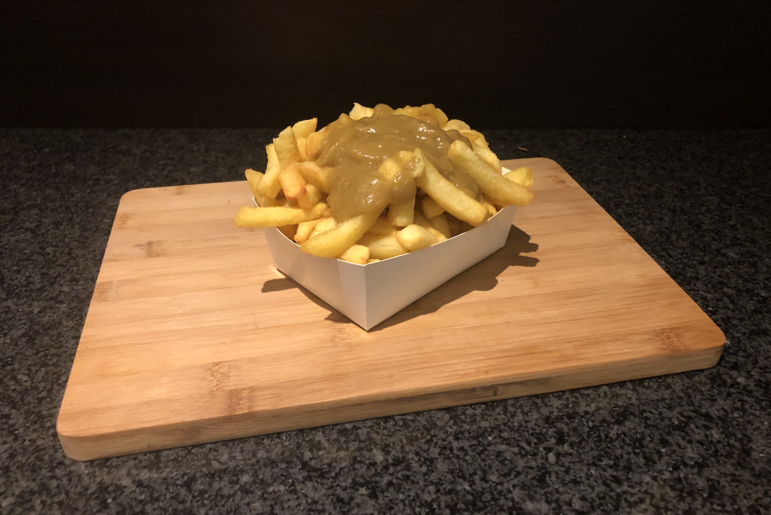 Grote Friet Warme Curry