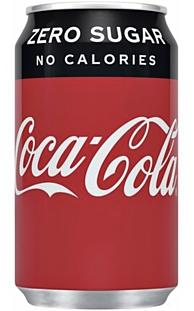 Cola Zero 33cl blikje