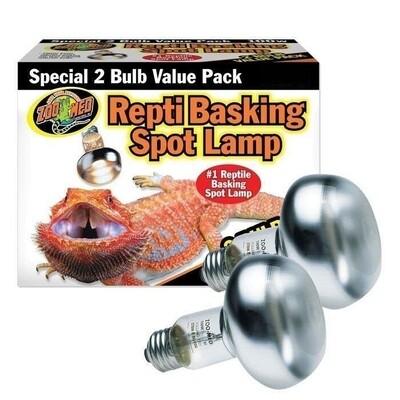 ZooMed - Repti Basking Spot Lamp - Value Pack