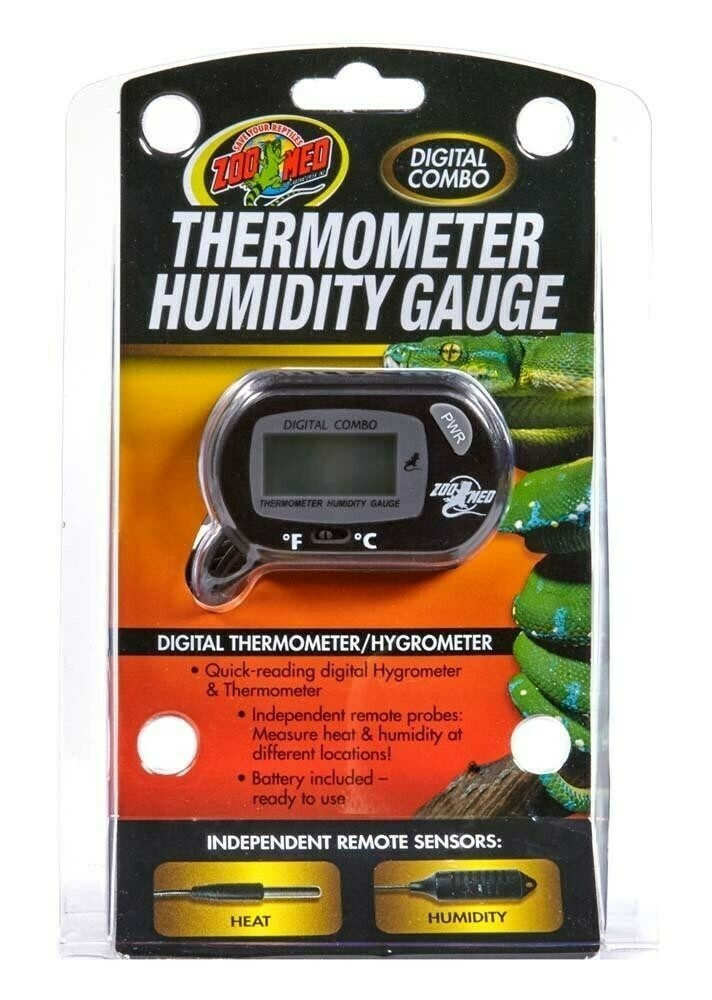 ZooMed - Digital Combo Thermometer Humidity Gauge