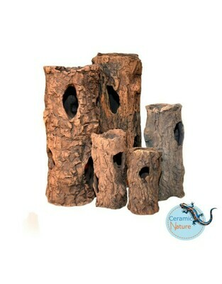 Ceramic Nature - Boomstam . Tronc d'Arbre . Log