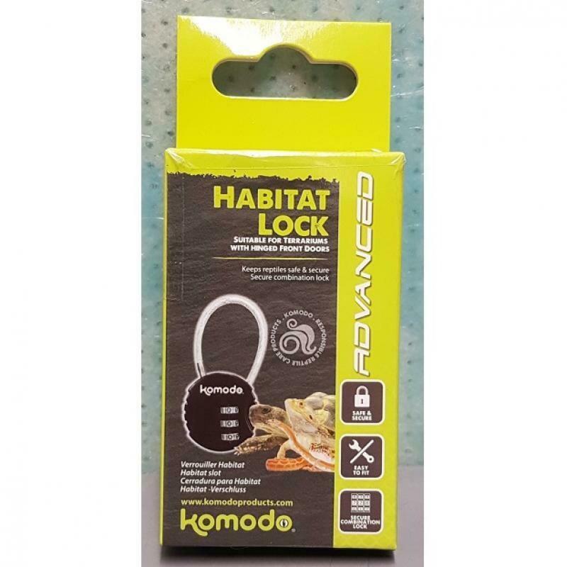 Komodo - habitat Lock