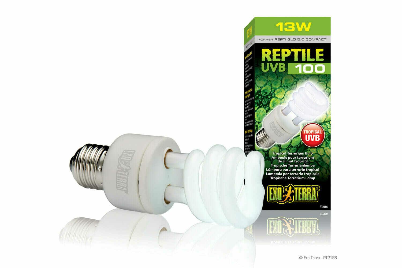 Exo Terra - Reptile UVB 100 - (Sub-)Tropisch Terrarium