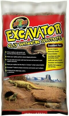 ZooMed - Excavator Clay Burrowing Substrate