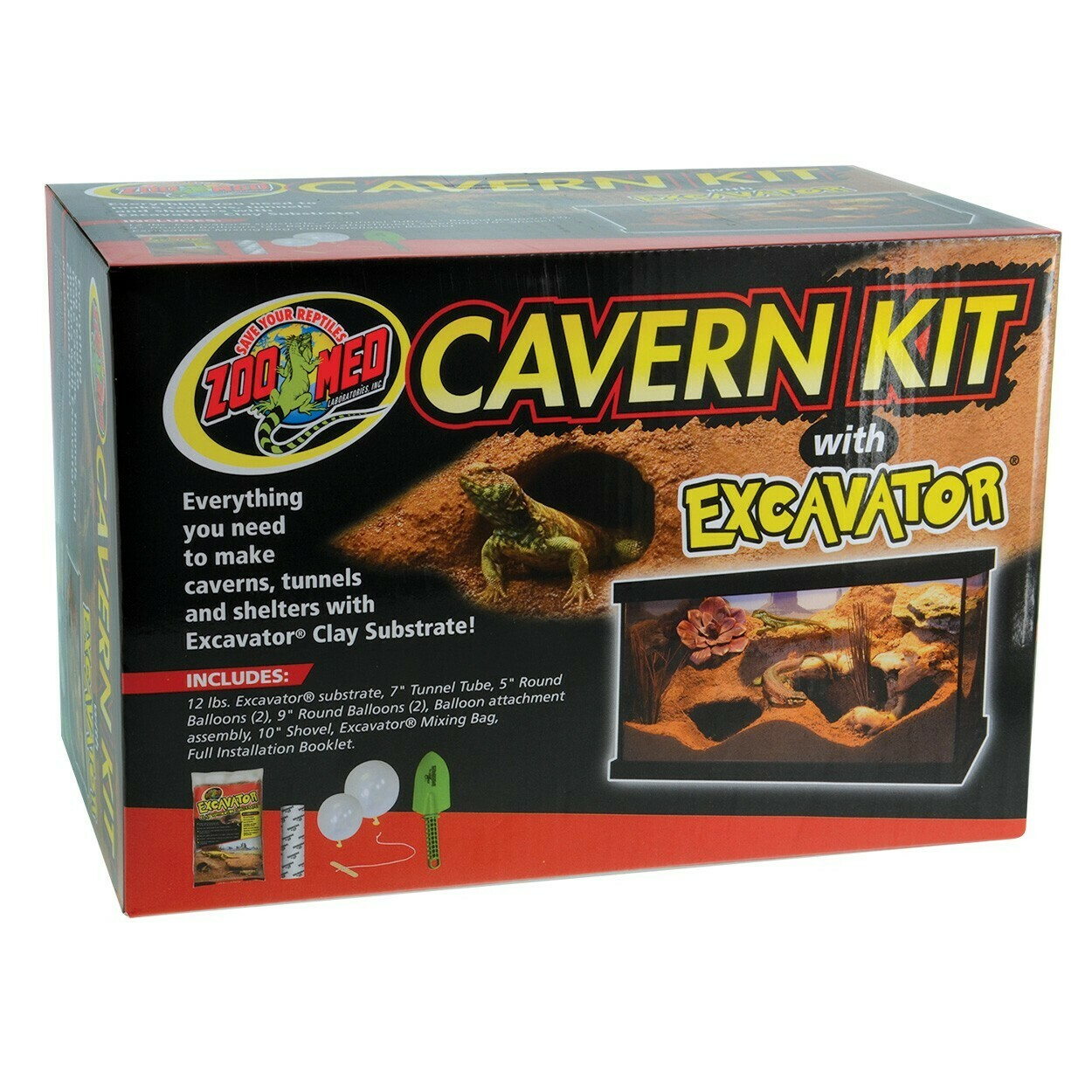 ZooMed - Cavern Kit with Excavator - 5.4Kg
