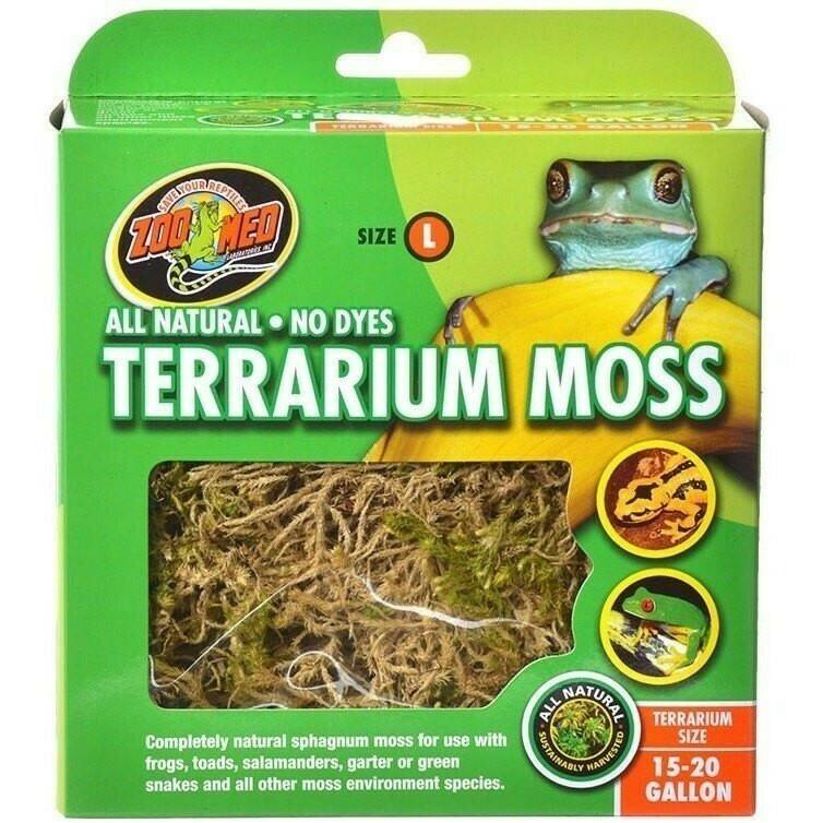 ZooMed - Terrarium Moss - 3.1Liter