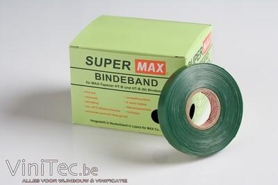 MAX Super tape groen, doos 10 rol van 40m ( voor HT-B en HT-R tang )