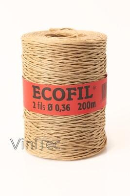 Ecofil binddraad 2 x 0,36 mm -  rol 200m