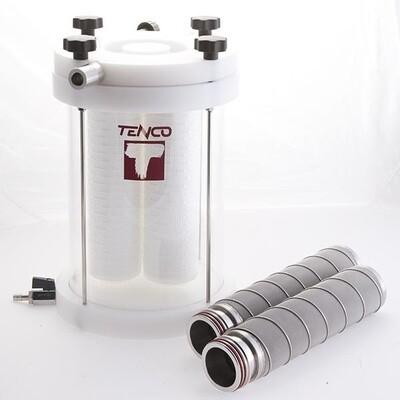 Tandem Professional filterhouder voor gebruik met Enolmaster botteltoestel