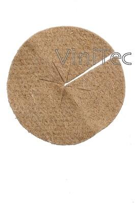 Onkruidschijf jute/vilt met uitsparing voor stam, ø 25 cm ( 50 stuks )