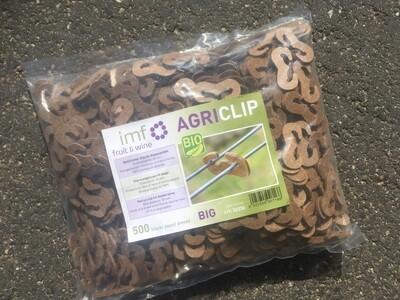 Agri Clip bio ( om dubbele draden te verbinden ) - zak 500 st