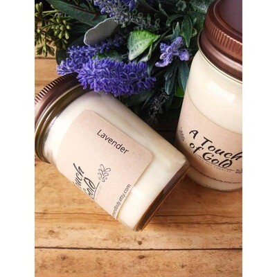 Lavender Candle Soy